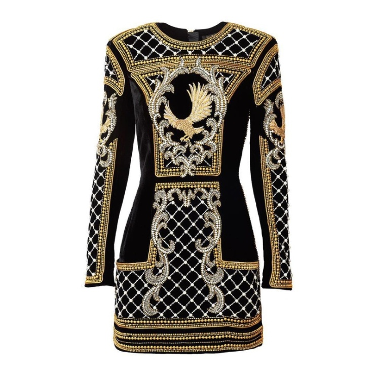 HM-Balmain-Dress